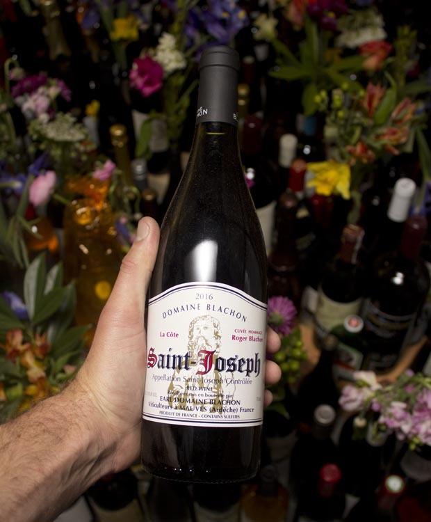 Domaine Blachon Saint Joseph Rouge La Cote Cuvee Hommage Roger Blachon 2016