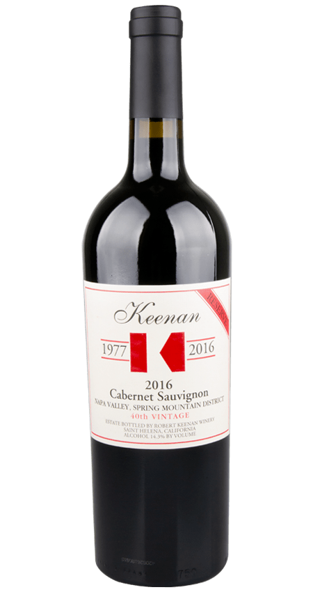 96 Pt. Keenan Winery Cabernet Sauvignon Reserve Spring Mountain 2016