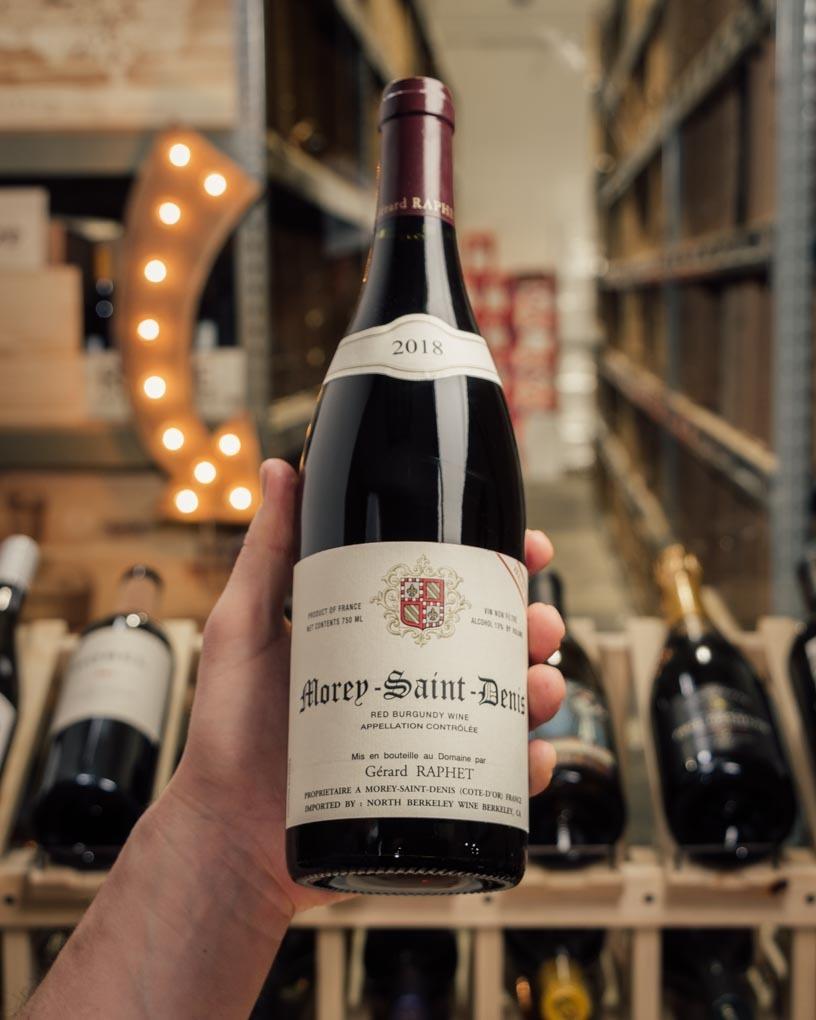Domaine Gerard Raphet Morey Saint Denis Vieilles Vignes 2018