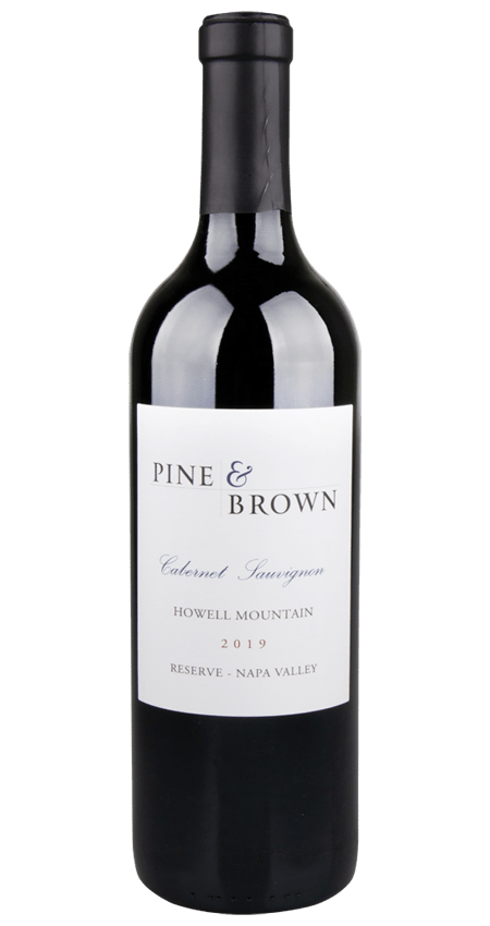 Pine and Brown Howell Mountain Reserve Cabernet Sauvignon 2019