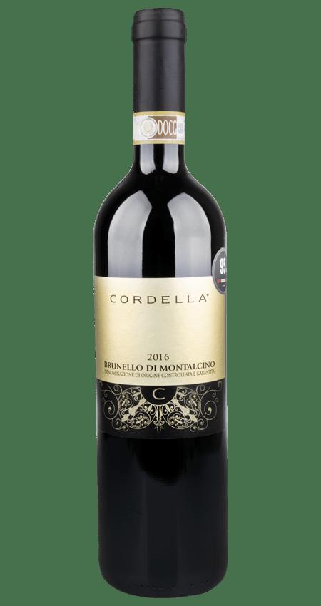 95 Pt. Cordella Brunello di Montalcino 2016