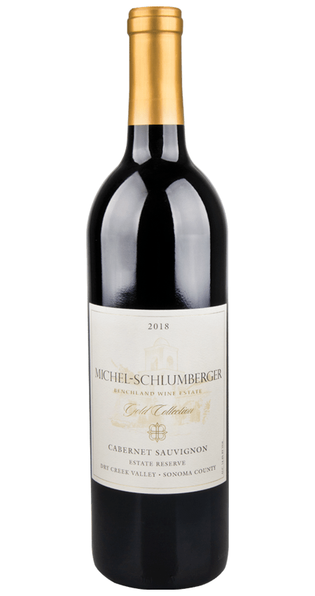 Michel-Schlumberger 2018 Estate Reserve Gold Collection Dry Creek Valley Cabernet Sauvignon