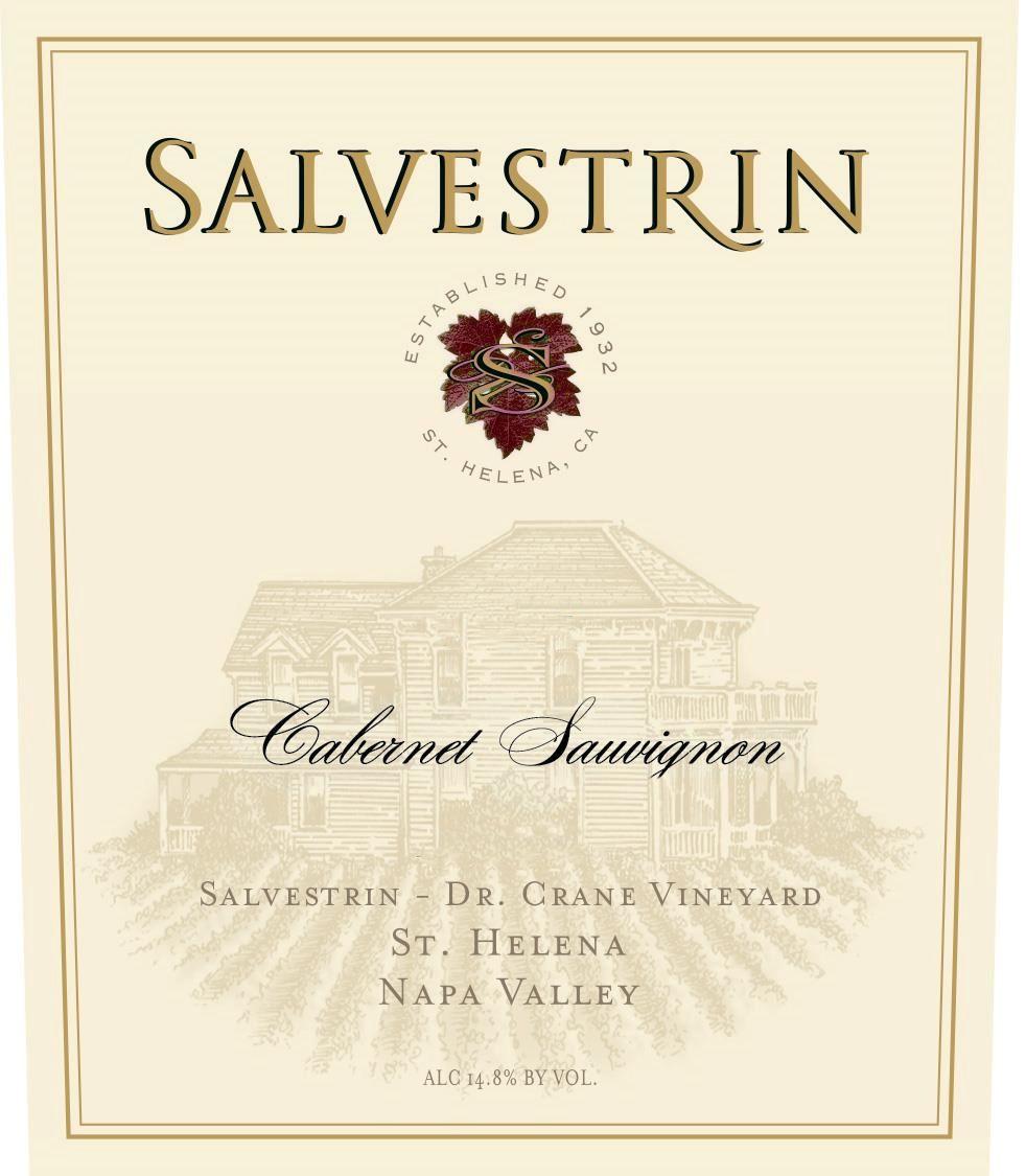 Salvestrin Dr. Crane Vineyard Estate Cabernet Sauvignon 2015