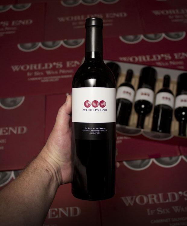 World's End Cabernet Sauvignon If Six Was Nine Reserve 2015