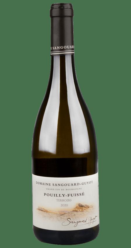 Pouilly-Fuissé White Burgundy Domaine Sangouard-Guyot 'Terroirs' 2020