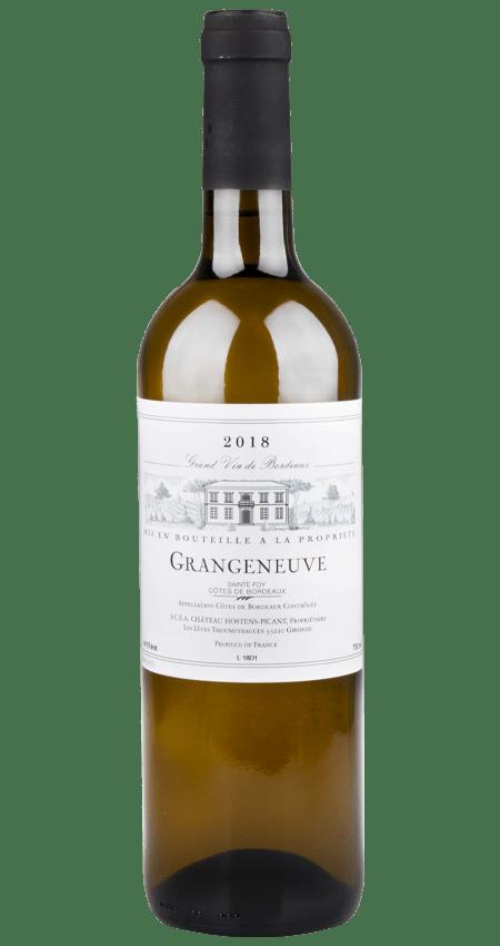 Château Hostens-Picant Grangeneuve Gran Vin de Bordeaux Blanc 2018