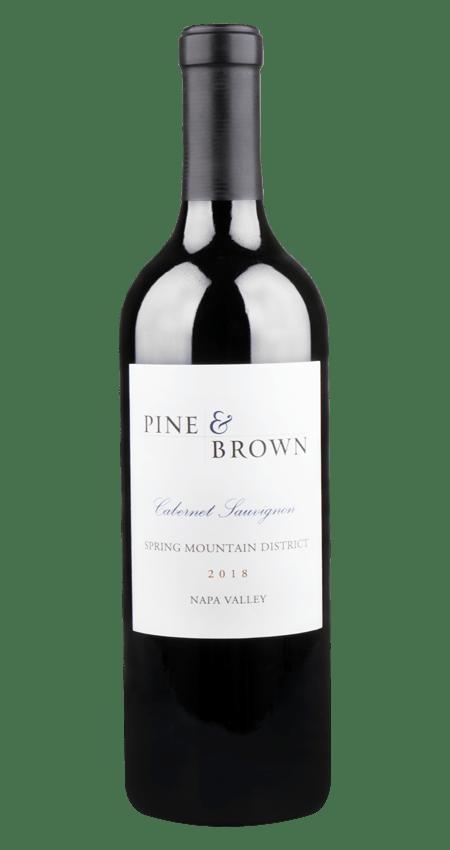 Pine and Brown Spring Mountain Cabernet Sauvignon 2018 Napa Valley