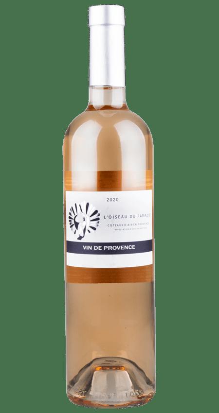 Coteaux d'Aix en Provence Rosé 2020 L'Oiseau du Paradis