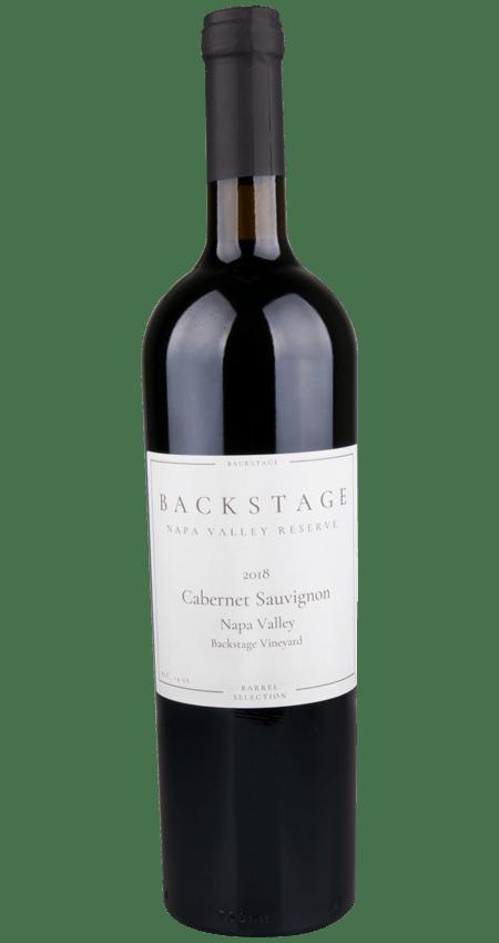 Backstage Wines Napa Valley Cabernet Sauvignon Reserve Backstage Vineyard Oakville 2018