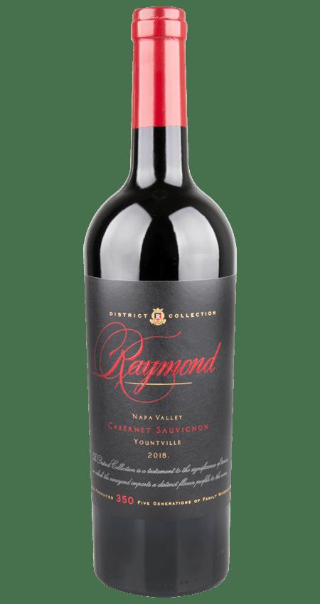 95 Pt. Raymond Vineyards Yountville Napa Valley Cabernet Sauvignon 2018 'District Collection'