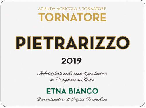 Tornatore Pietrarizzo Etna Bianco 2019
