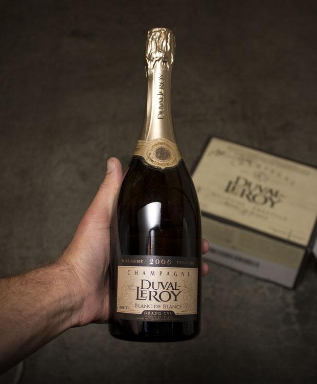 Champagne Duval Leroy Blanc de Blanc Grand Cru 2006