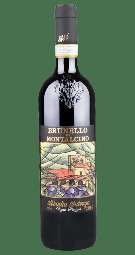 95 Pt. Brunello di Montalcino Abbadia Ardenga Cru Vigna Piaggia 2016