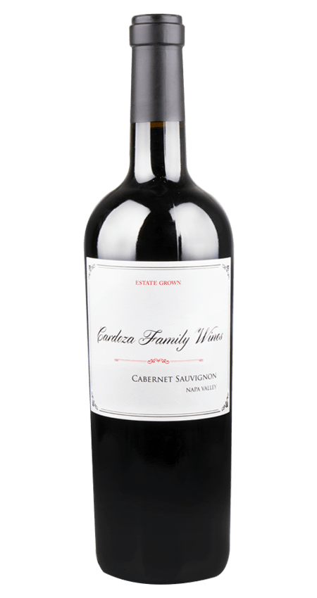 Cardoza Family Wines Napa Valley Cabernet Sauvignon Estate Grown 2018