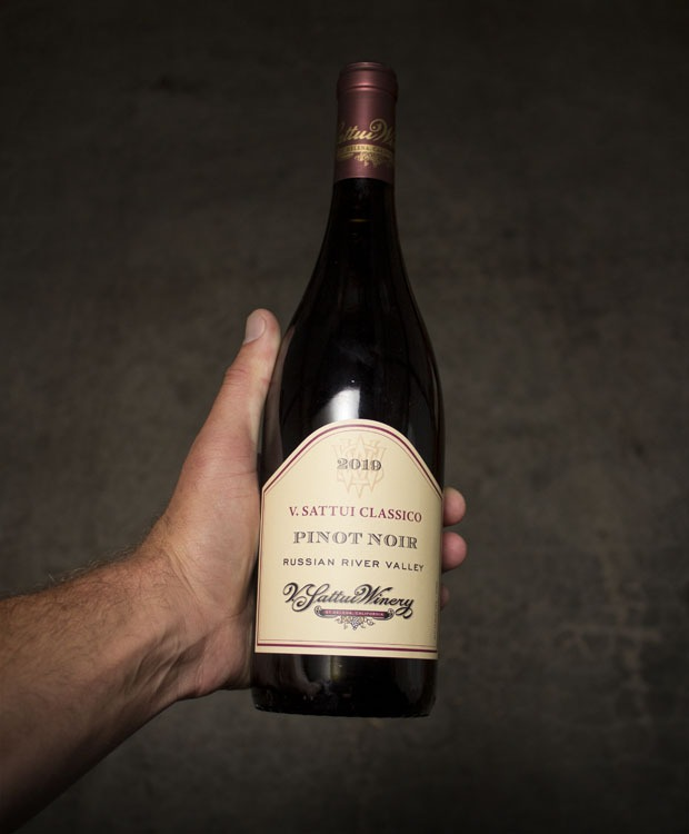 V. Sattui Classico Pinot Noir Sonoma County 2019