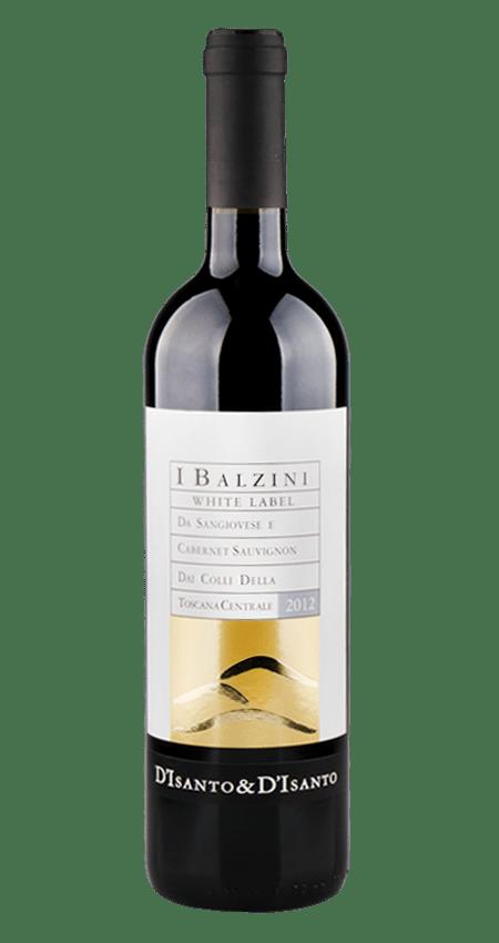 93 Pt I Balzini White Label Super Tuscan 2012