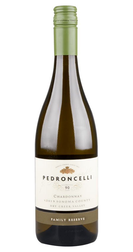 Pedroncelli Chardonnay Dry Creek Valley 2019 'Family Reserve'