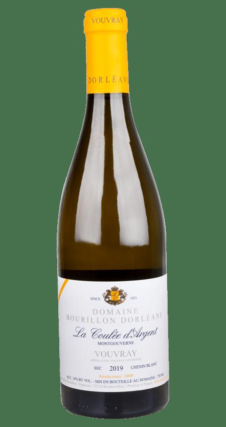 92 Pt. Domaine Bourillon Dorléans Vouvray Sec La Coulée d'Argent Montgouverne 2019