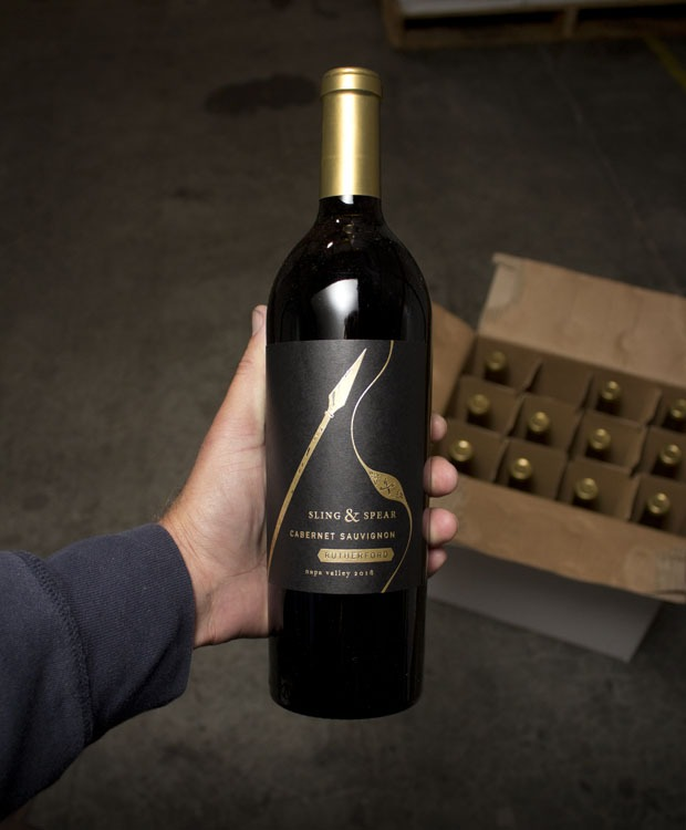 Sling & Spear Cabernet Sauvignon Rutherford 2018