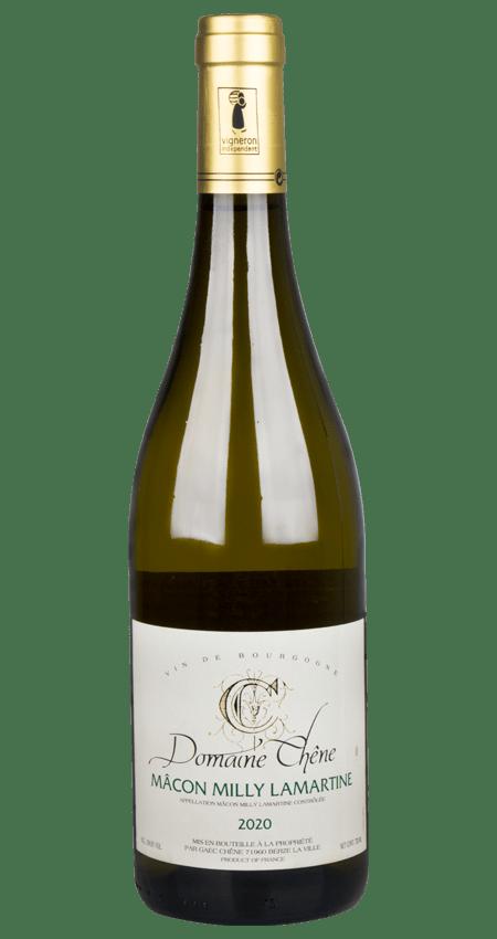 White Burgundy 2020 Domaine Chêne Mâcon Milly Lamartine