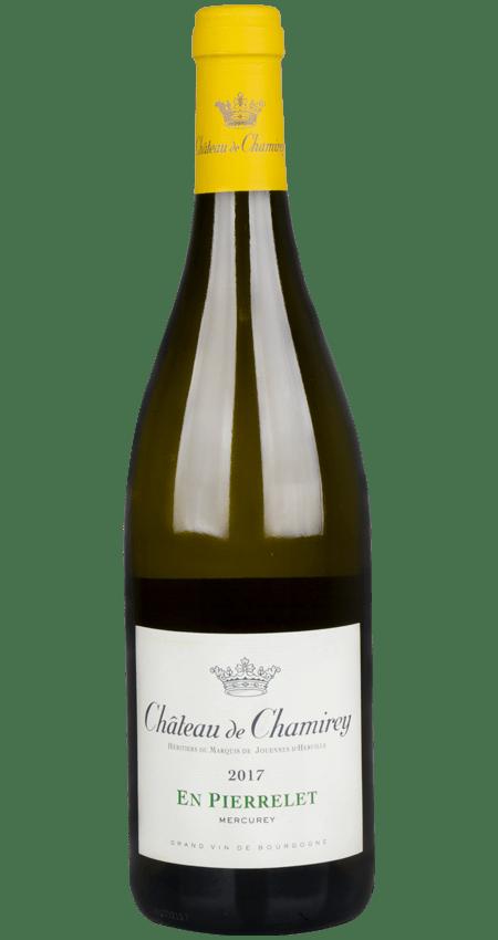 91 Pt. White Burgundy Mercurey Blanc En Pierrelet 2017 Château de Chamirey