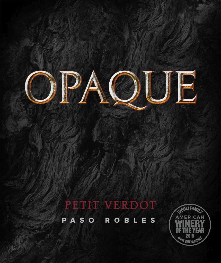Opaque Petit Verdot 2017