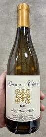 2018 Brewer Clifton Sta. Rita Hills Chardonnay (94JD/93WE)