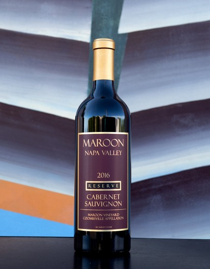 2016'Maroon Vineyard' Coombsville Reserve Cabernet Sauvignon