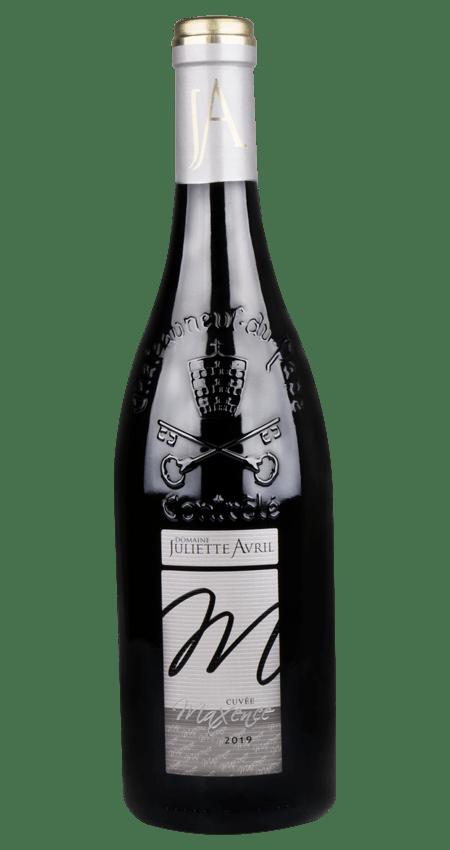 96 Pt. Châteauneuf du Pape Juliette Avril 'Cuvée Maxence' Red 2019