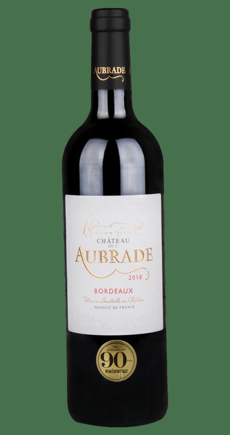 Château De L'Aubrade Bordeaux Rouge 2018