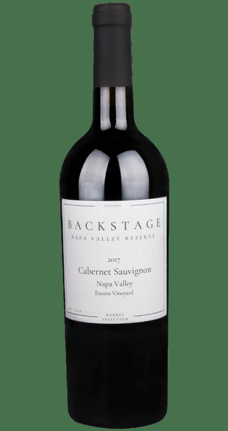Backstage Reserve Encore Vineyard Rutherford Napa Valley Cabernet Sauvignon 2017