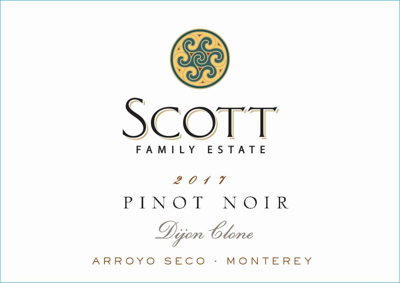Scott Family Estate Arroyo Seco Pinot Noir 2017