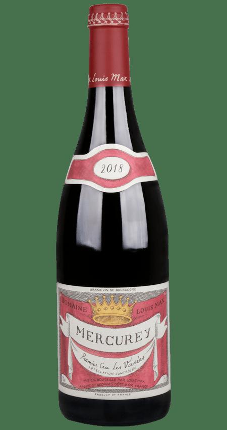 92 Pt. Louis Max Mercurey 1er Cru Les Vasées 2018