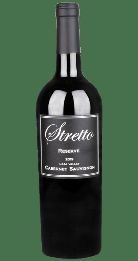 Stretto Winery Napa Valley Reserve Cabernet Sauvignon 2019