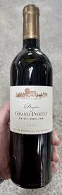 2016 Dauphin de Grand Pontet Saint-Emilion Bordeaux