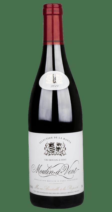 91 Pt. Beaujolais Cave Chénas Moulin-à-Vent Selection de la Hante 2019