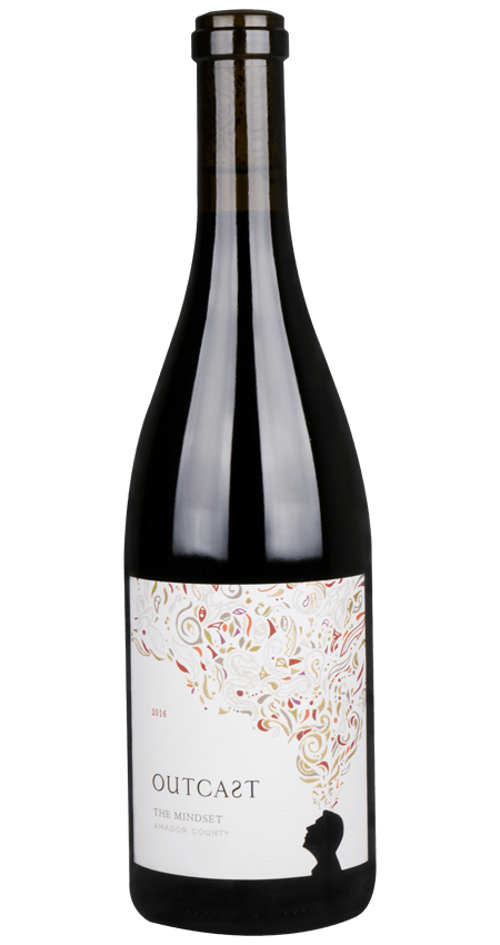 Outcast Wines Petite Sirah Amador County 2016 'The Mindset'