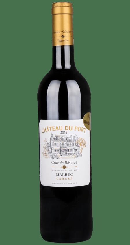Vignobles Pelvillain 2016 Château du Port Grande Réserve Cahors 2016