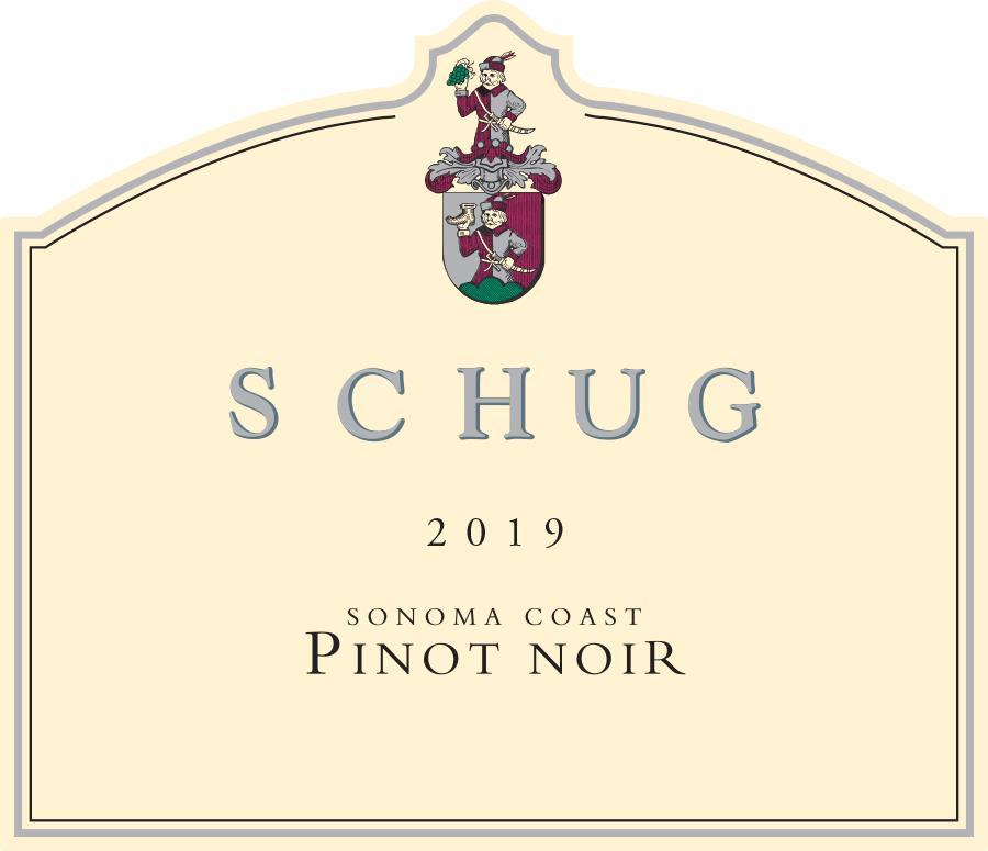 Schug Sonoma Coast Pinot Noir 2019