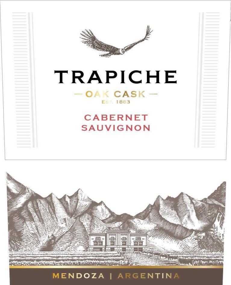 Trapiche Oak Cask Cabernet Sauvignon 2018