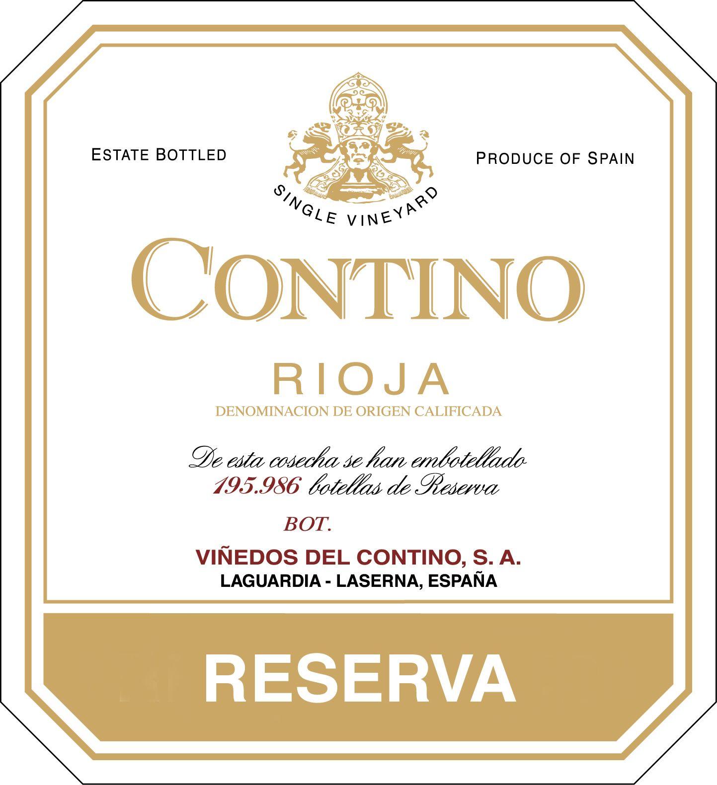 Contino Rioja Reserva 2015