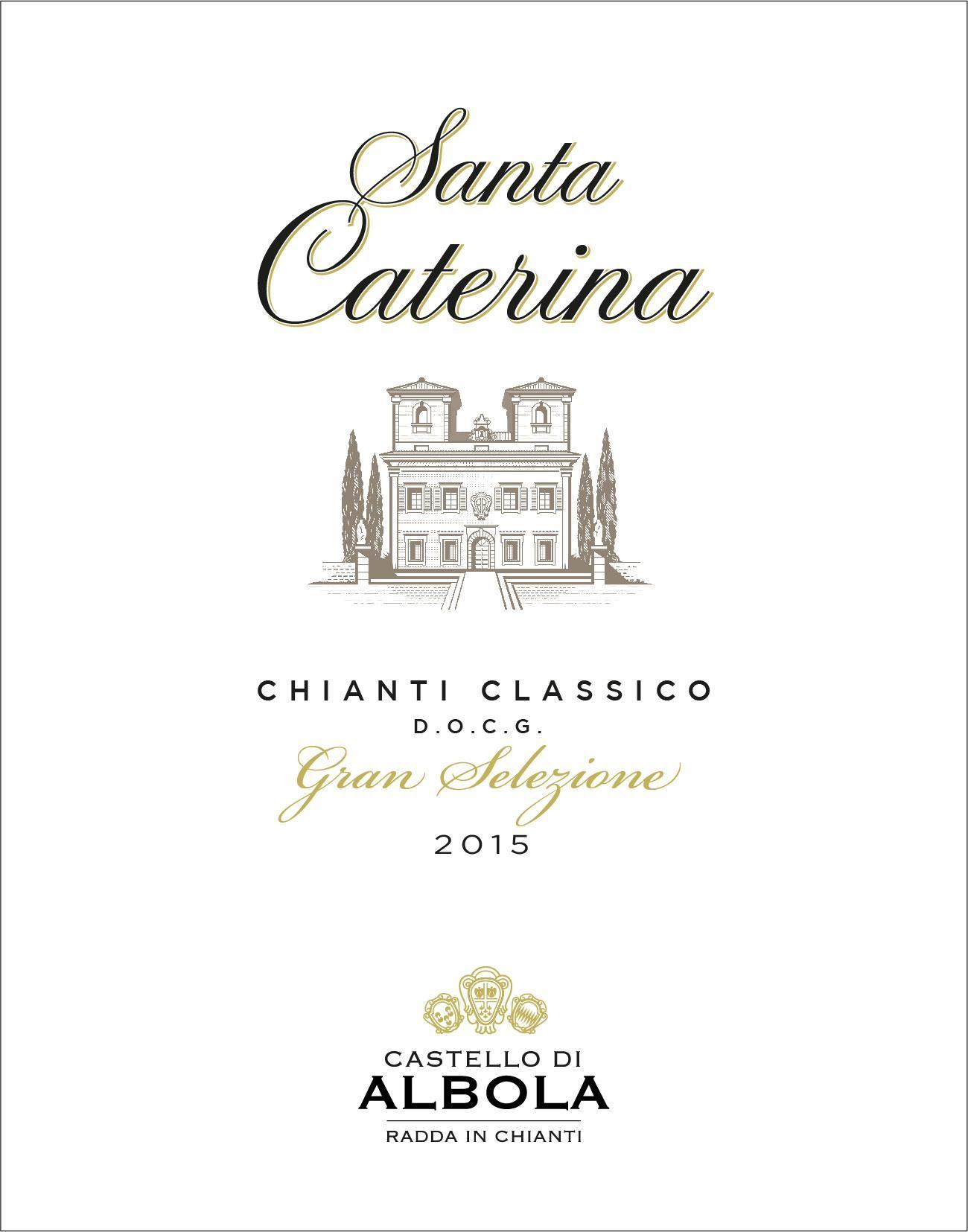 Castello di Albola Santa Caterina Chianti Classico Gran Selezione 2015