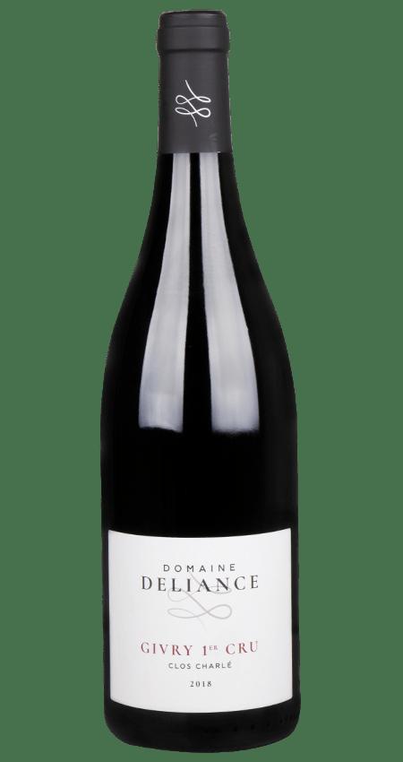 Domaine Deliance Red Burgundy Givry 1er cru Clos Charlé  2018