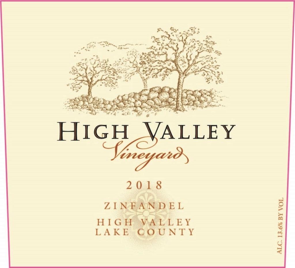 High Valley Zinfandel 2018