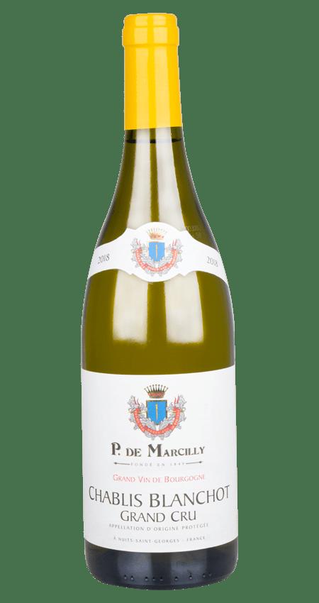 P. de Marcilly Chablis Grand Cru Blanchot 2018
