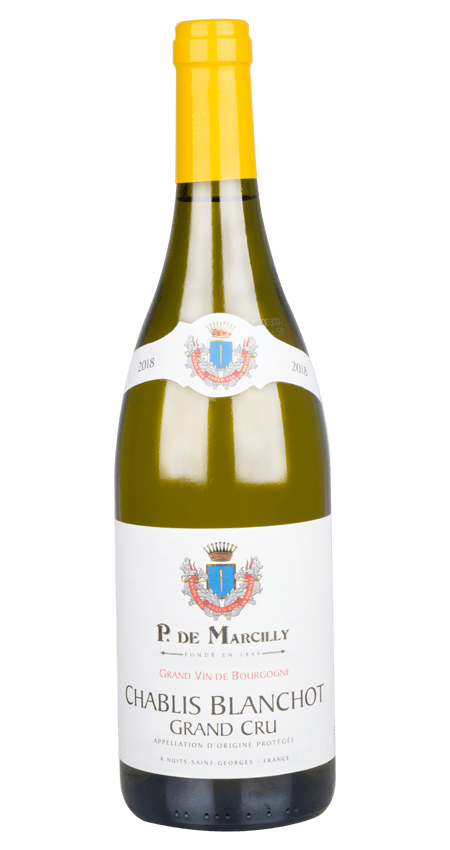 Chablis Grand Cru 2018 P. de Marcilly 'Blanchot'