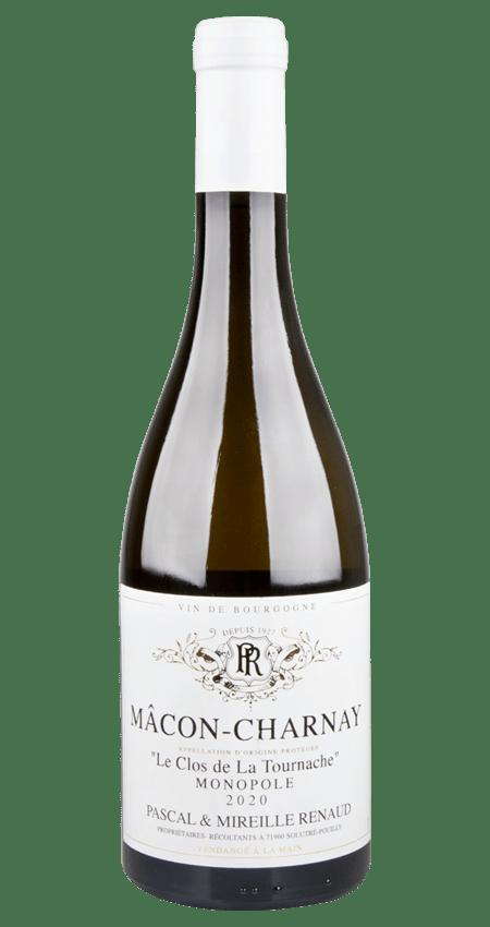 White Burgundy 2020 Mâcon-Charnay Domaine Renaud Monopole 'Le Clos de la Tournache'