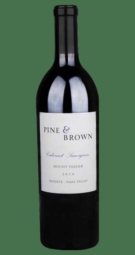 Pine and Brown Mount Veeder Reserve Cabernet Sauvignon 2019 Napa Valley