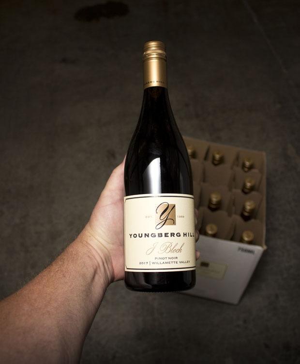 Youngberg Hill Pinot Noir J. Block Willamette Valley 2017