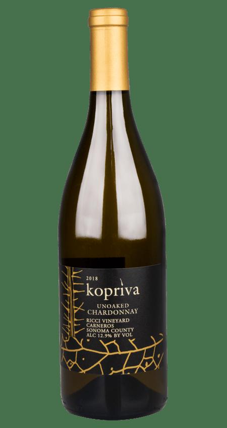 Kopriva Unoaked Chardonnay Ricci Vineyard Carneros 2018